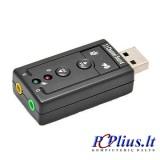 Garso plokštė USB 2.0 3D Virtual 7.1