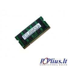 2GB DDR2 800MHz SODIMM operatyvioji atmintis (RAM) Samsung