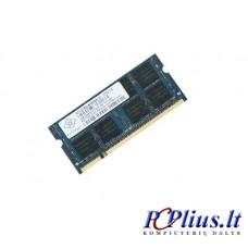 1GB DDR2 667MHz SODIMM operatyvioji atmintis (RAM) Nanya